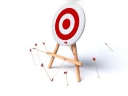 Ready - Fire - Aim - Arrows-Missing-Target - Golden Ratio Marketing - Demos 2 Go