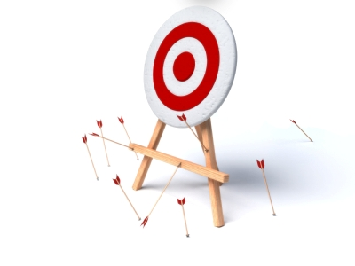 Ready - Fire - Aim - Arrows-Missing-Target - Golden Ratio Marketing - Demos 2 Go