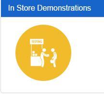 In Store Demonstrations - Golden Ratio Marketing